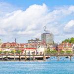 Konstanz Skyline vom Schiff aus - Bodensee